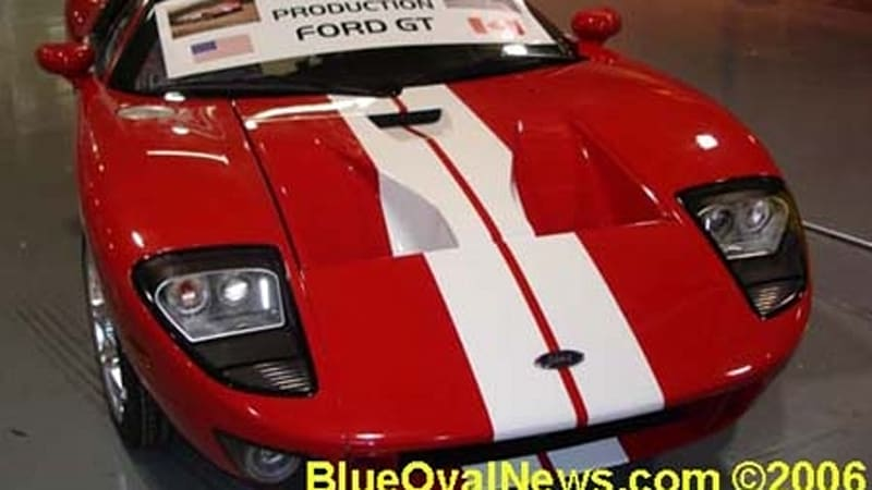The End Is Nigh For The Ford Gt As The Last Production Car Has Rolled Out Of The Troy Michigan Saleen Facility Where Most Of The Cars Final Assembly Was