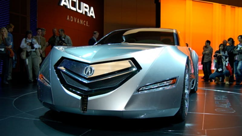 La Auto Show Acura Advanced Sedan Concept Autoblog