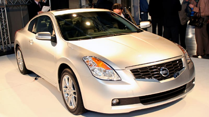 Yes, The New 2007 Nissan Altima Coupe Is The Poor Manu0027s G35, As Long As The  Financially Challenged Donu0027t Mind Moving The Coupeu0027s Motivating Wheels Up  Front.