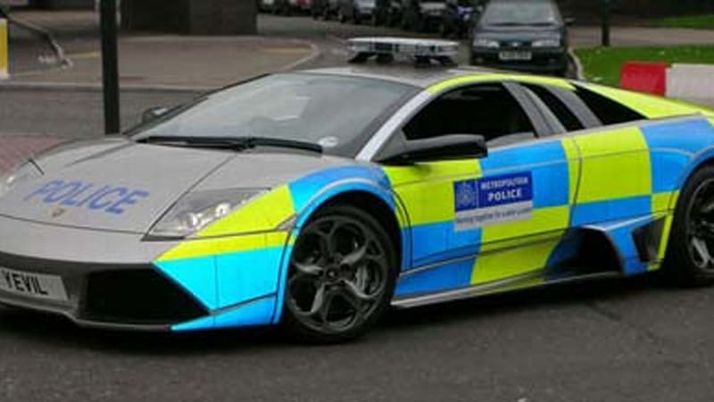 What S All This Then Lambo Lp640 For London Met Police Autoblog