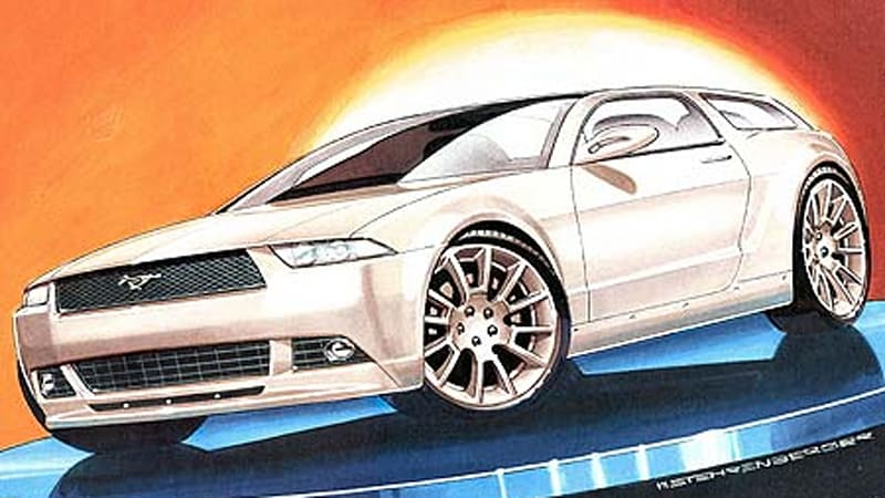 German Mag Speculates On 2010 Mustang Wagon Autoblog