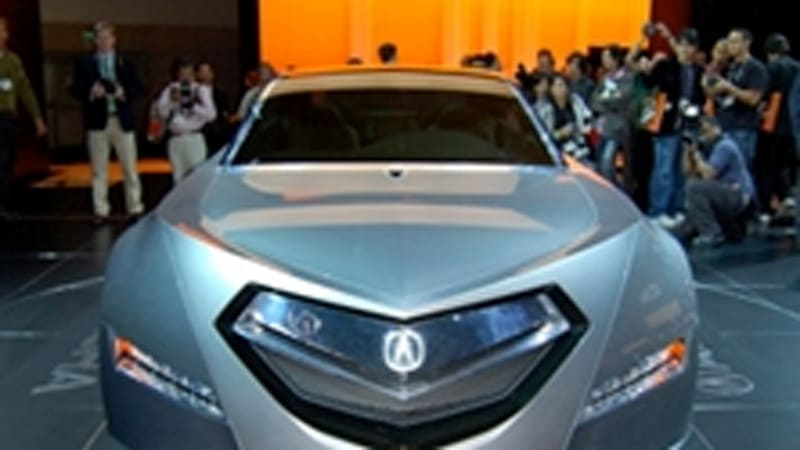 Separated At Birth Acura Advanced Sedan Concept The Littoral