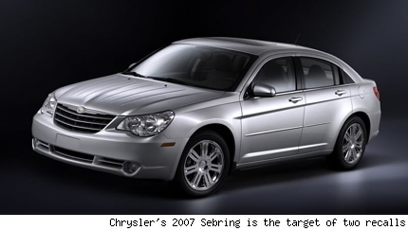 chrysler recalls more than 68k 2007s autoblog. Black Bedroom Furniture Sets. Home Design Ideas