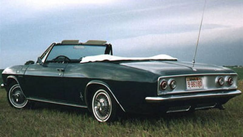 RR Of The Day 1965 Corvair Corsa Turbo Convertible
