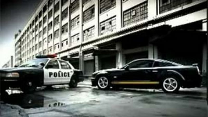 Shelby Gt Police Chase Commercial