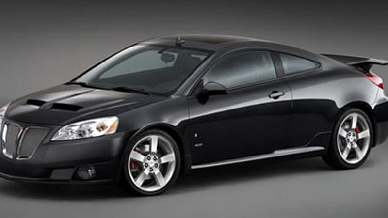 detroit auto show pontiac g6 and torrent suv get the gxp. Black Bedroom Furniture Sets. Home Design Ideas