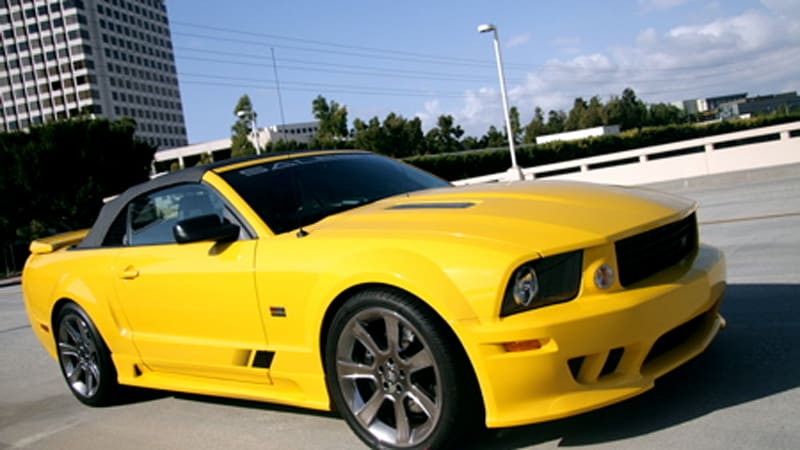 In The Autoblog Garage Saleen S281 Supercharged Mustang