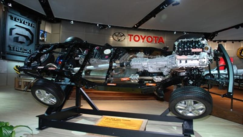 Detroit Auto Show Under The Skin Of Toyota S Tundra