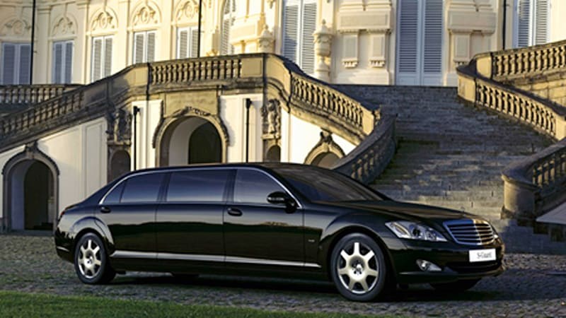 Size Matters: Mercedes-Benz S600 Guard Pullman limousine in ...