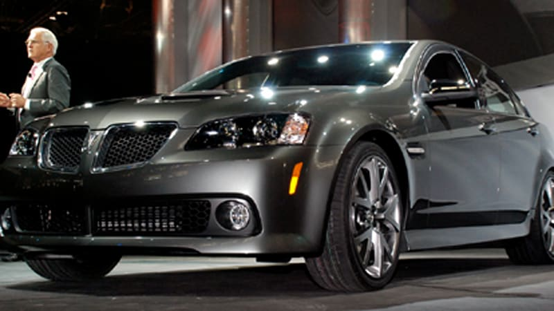 Chicago Auto Show Gm Rwd Fans Can Rejoice For The Pontiac G8 Has