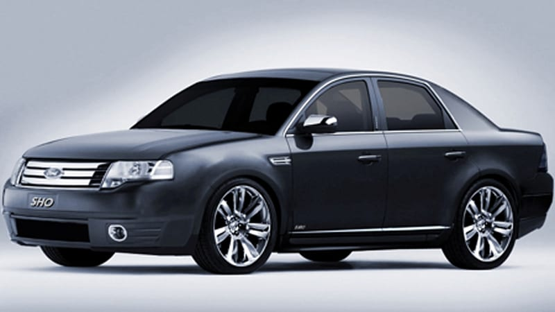 sho time taurus sho should return to lineup too autoblog. Black Bedroom Furniture Sets. Home Design Ideas