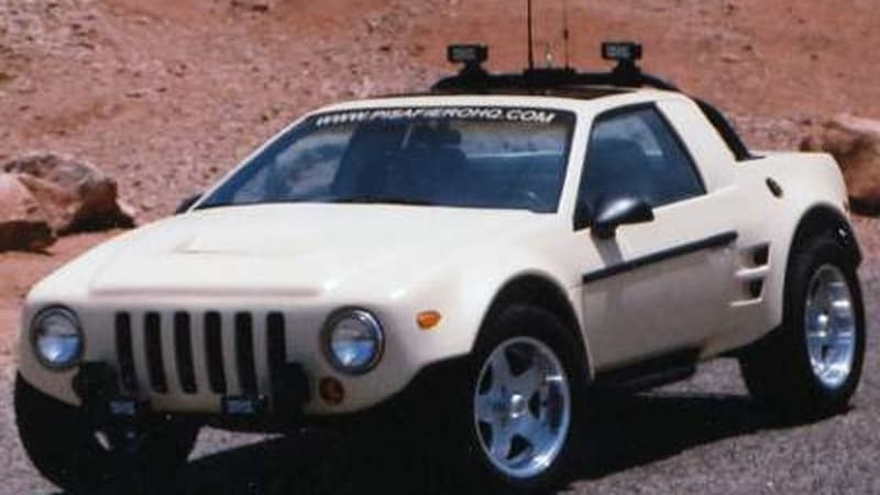 Spicy fiero kit car has off road aspirations autoblog click image for mini gallery sciox Gallery
