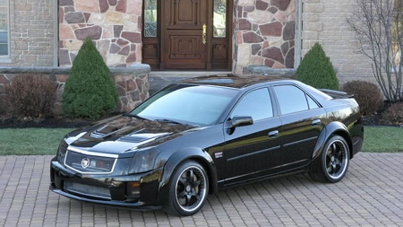 caddiwhack predator 800 hp twin supercharged cts v autoblog. Black Bedroom Furniture Sets. Home Design Ideas