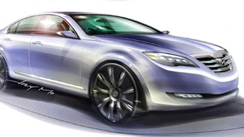 New York Preview Hyundai Concept Genesis Heralds Arrival Of V8 Rwd