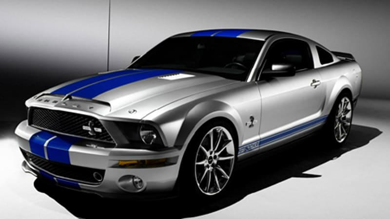 New York Preview: 2008 Shelby GT500KR - The King of the Road returns ...