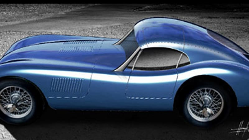 Recently Acquired Proteus To Debut Jaguar C Type Coupe Replica   Autoblog