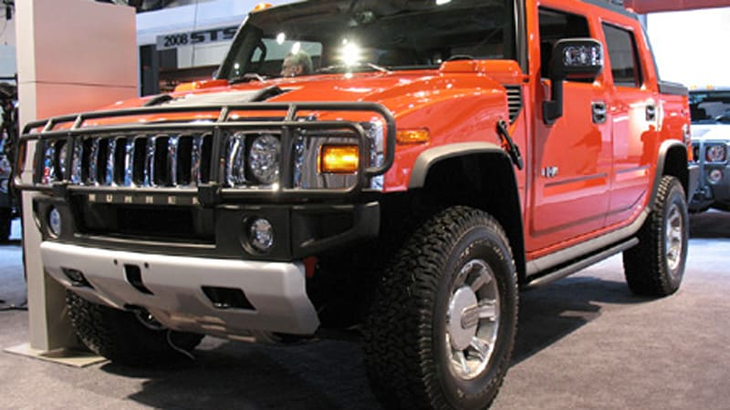 New York Auto Show Hummer H2 Gets An Interior For Grown Ups Autoblog