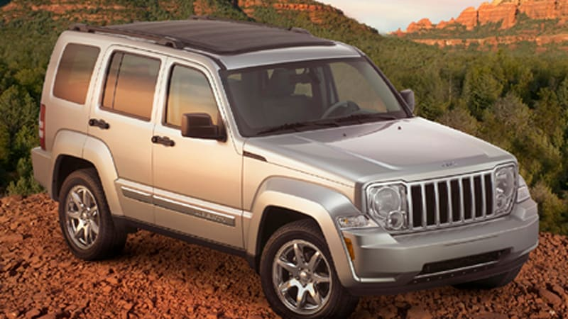 new york auto show all new 2008 jeep liberty with sky. Black Bedroom Furniture Sets. Home Design Ideas