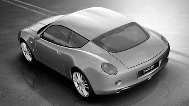 Zagato At It Again Maserati Gs Zagato Autoblog