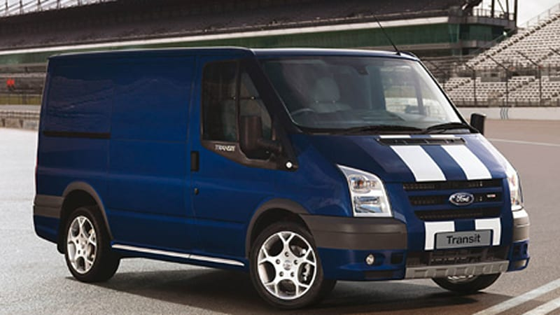 Delivery Trucks Are Cool Ford Transit SportVan