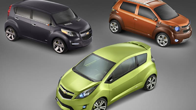 New York Auto Show Chevy Debuts The Beat Groove And Trax Mini Car