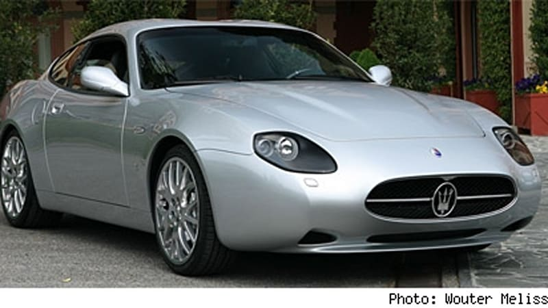 Maserati Gs Zagato In The Sheetmetal Autoblog