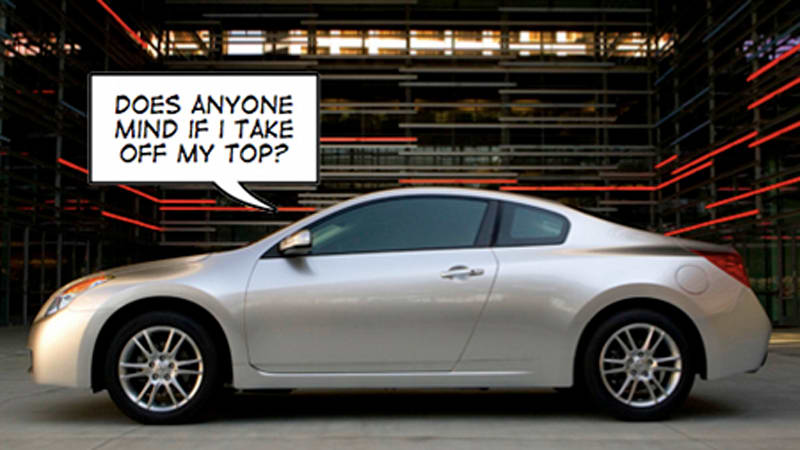 Nissan S Studying The Altima Segment Hard Looking For Nooks And Crannies To Poke Variants Into First Volley Is Coupe Which Rides On A
