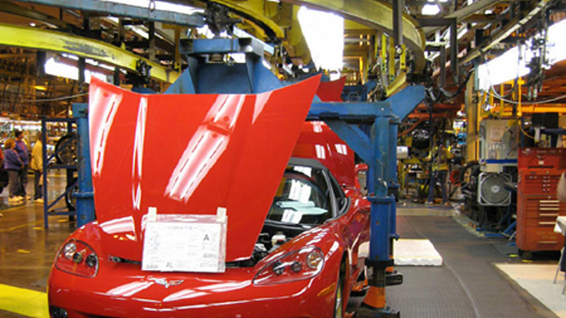 A tour of GM's Bowling Green Assembly Plant | Autoblog