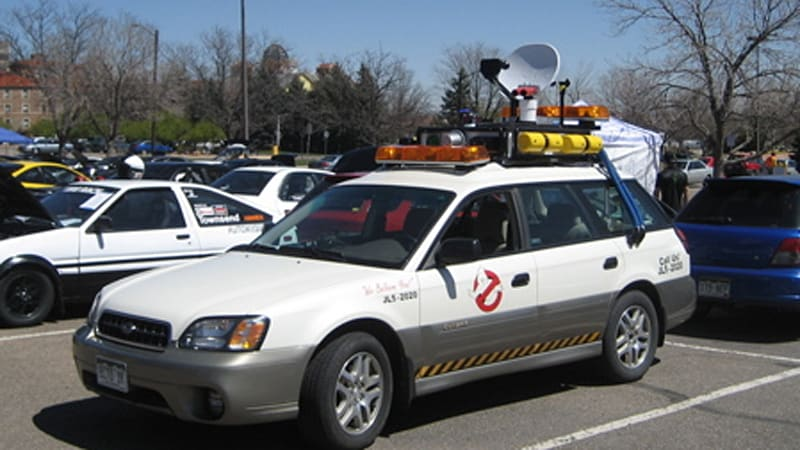 ghosbusters spotted in the colorado outback autoblog ghosbusters spotted in the colorado
