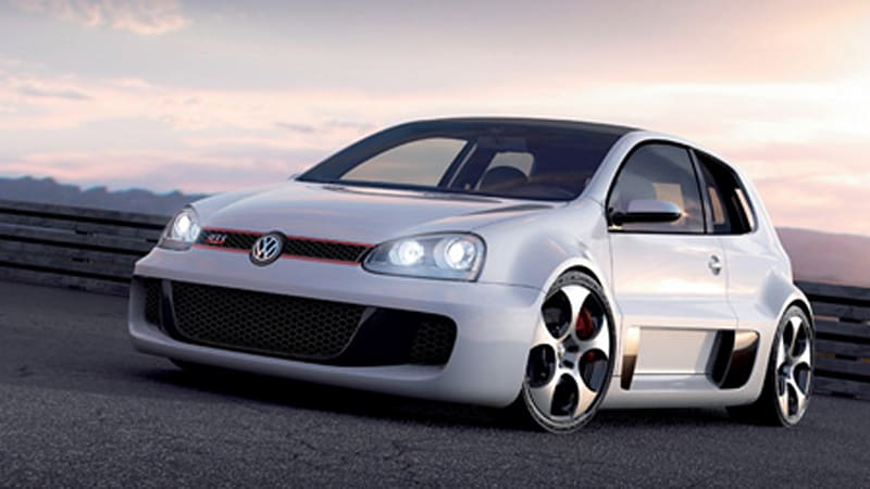 Click For High Res Gallery Of VW Golf GTI W12 650 Concept. It Would Appear  That The Audi TT Clubsport Was Just An Appetizer For The Fans At The  Wörthersee ...