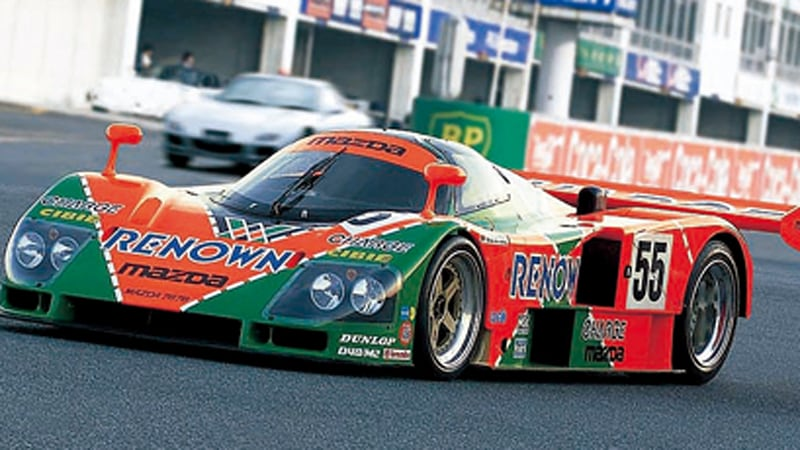 NIght Watch: The sights and sounds of the Mazda 787B - Autoblog