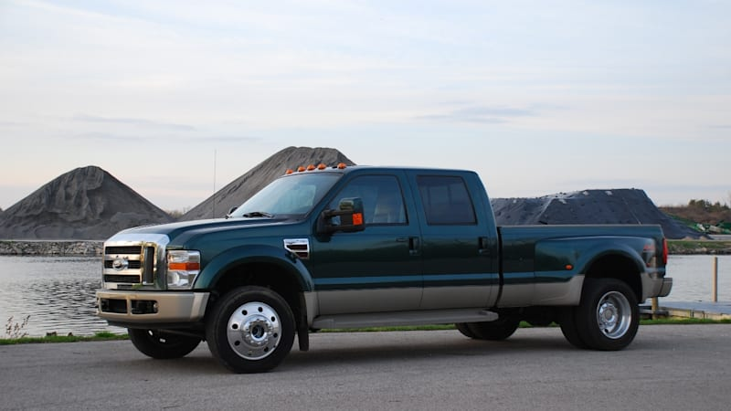 F450 King Ranch >> In The Autoblog Garage 2008 Ford F 450 Lariat King Ranch