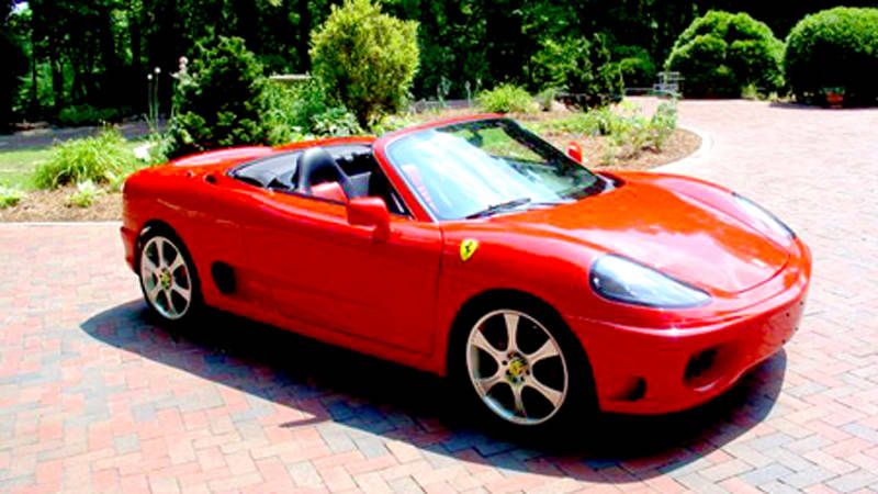Mr2 spyder body kit ferrari