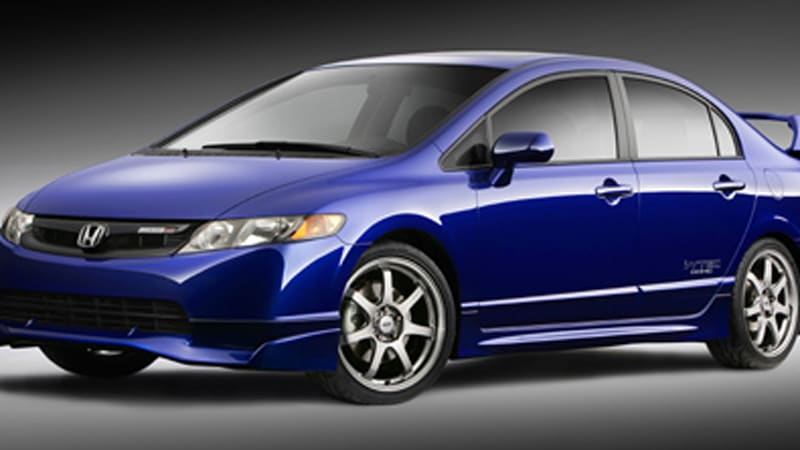 honda civic mugen si on sale this fall autoblog. Black Bedroom Furniture Sets. Home Design Ideas