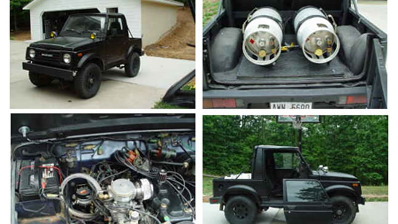 Craigslist Find of the Day: Propane-powered '86 Suzuki Samurai