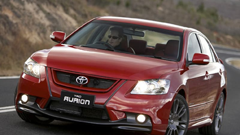Toyota Australia launches TRD Aurion with 323 HP  Autoblog