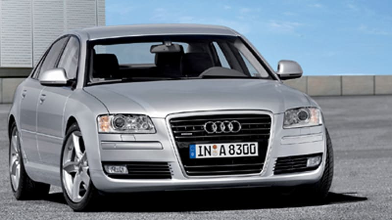 2008 Audi A8 gets 2 8 FSI, new features, and subtle tweaks
