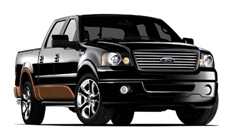 Click Above Image For More High Res Pics Of The 2008 Ford F 150 Harley Davidson