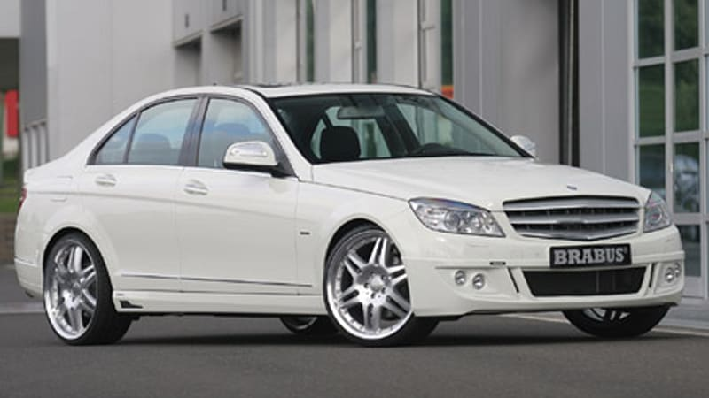 Brabus Punches Up The Mercedes Benz C220 Cdi Autoblog