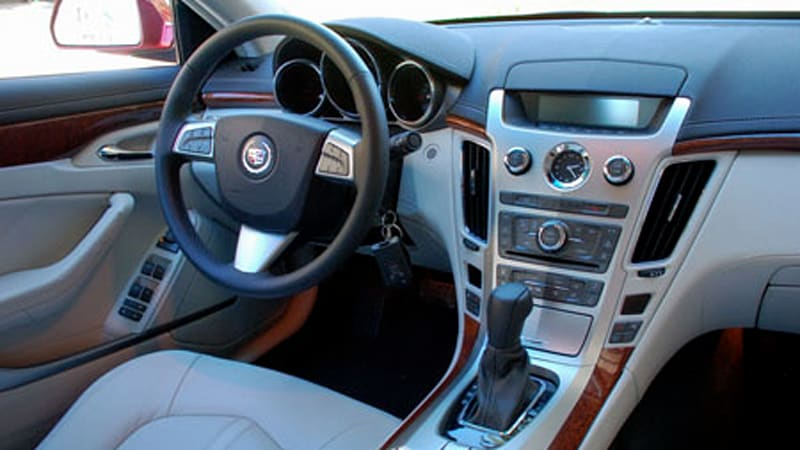 first drive 2008 cadillac cts interior and infotainment autoblog