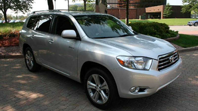 30 Minutes With The 2008 Toyota Highlander