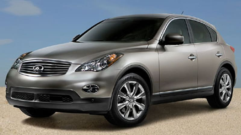 Officially Official 2008 Infiniti Ex35 Revealed Autoblog
