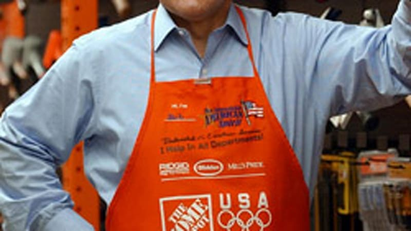 home depot and bob nardelli 03012007 robert nardelli, the ceo of home depot who came under fire for the size of his pay package as well as  under bob nardelli's leadership, [home depot].