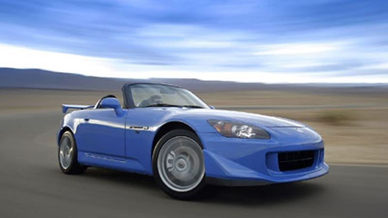 First Drive Of 2008 Honda S2000 Cr Pops Up Autoblog