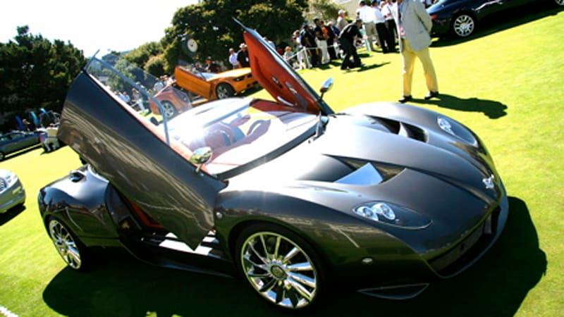 Pebble Beach Week 2007 Spyker Zagato Makes California Appearance