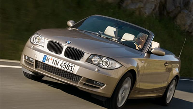 Officially Official BMW Series Convertible Autoblog - 2007 bmw 128i