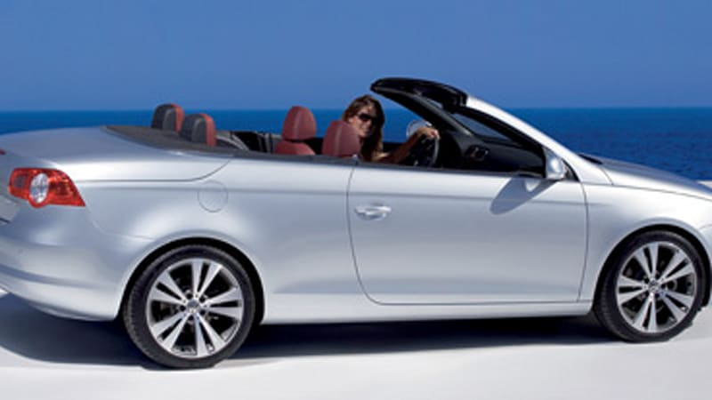 officially official volkswagen eos a chick car autoblog
