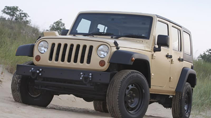 Jeep J8 Marks Brand S Return To Military Duty Autoblog