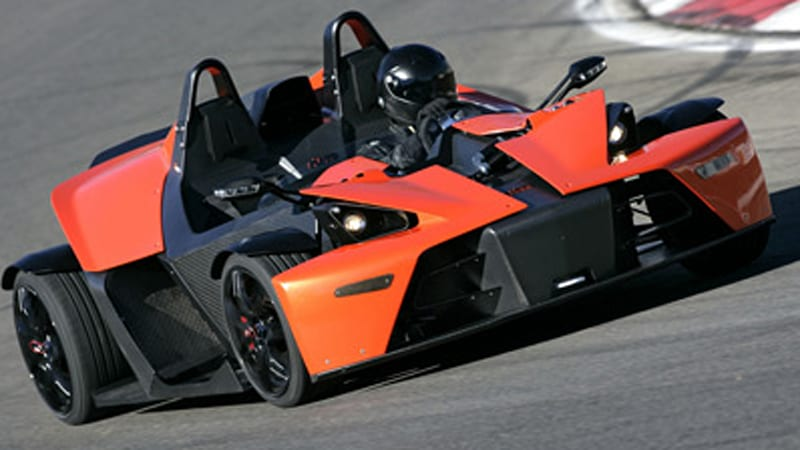 KTM builds plant exclusively for X-Bow - Autoblog