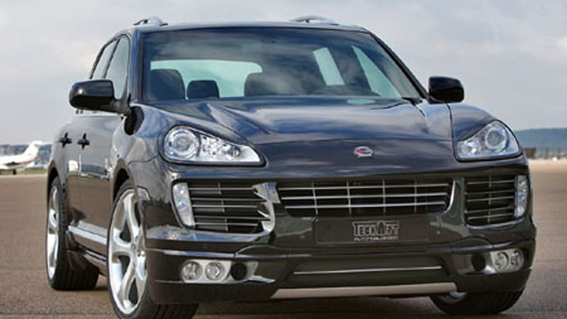 Techart Offers Up Aero Kit For 08 Porsche Cayenne Autoblog